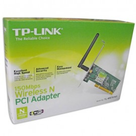 TP-LINK WIRELESS N PCI ADAPTER 150Mbps