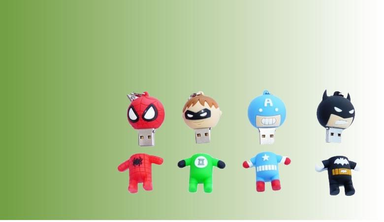 Ofertas USB Super Heroes